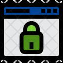 Private Website Lock Website Web Icon