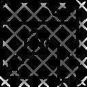 Key Window Arrow Icon
