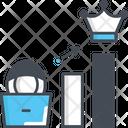 Privilege Escalation Cyber Crime Escalation Icon