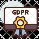 Prize Gdpr Award Gdpr Reward Icon