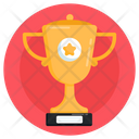 Prize Gold Trophy Championship Trophy Icon