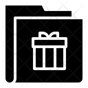 Gift Folder Gifts Collection Icon