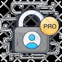 Pro Padlock Icon