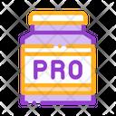 Pro Protein Powder Icon