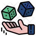 Probability Business Analysis Dice Icon