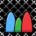 Probability Chart Modern Infographic Graphic Representation Icon