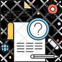 Problem Faq Sheet Icon