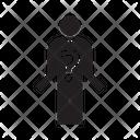 Problem Man Stress Icon