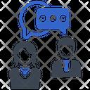 Service Support Discussion Icon