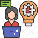 Problem Solution Solution Idea Icon