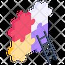 Jigsaw Problem Solving Problem Solution Icon