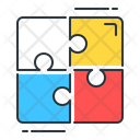 Problem Solve Puzzle Strategy Icon