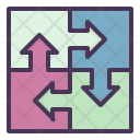 Integrated Management Process Icon