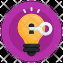 Idea Key Idea Problem Solving Icon