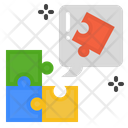 Problem Solving Idea Learning Icon