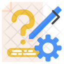 Problem Solving Questioning Diagnosis Icon