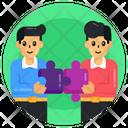 Teamwork Problem Solving Collaboration Icon