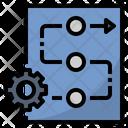 Procedure Process Method Icon