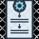 Procedure Process Protocol Icon