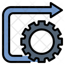 Process Optimization Development Icon