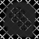Process Brain Think Icon