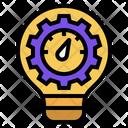 Process Metric Innovation Icon