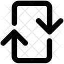Up Down Arrows Icon
