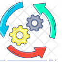 Operation Process Workflow Icon