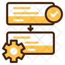 Process Execution Operations Icon