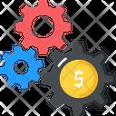 Dollar Money Setting Icon