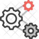 Process Workflow Gear Icon