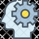 Process Human Mind Icon