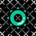 Process Cog Arrows Icon