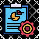Process Analysis Report Icon