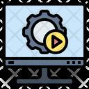 Automatic Computer Machine Icon