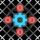 Process Diagram Icon