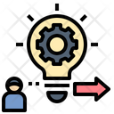 Reason Process Idea Icon