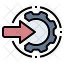 Input Performance Operation Icon