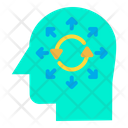 Process Mind Mind Processing Icon