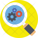 Monitoring Inspection Process Icon