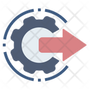 Output Performance Operation Icon
