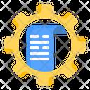 Processes Data Tool Icon