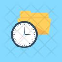 Processing Folder Timer Icon
