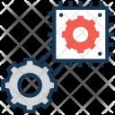 Processing Cog Data Icon