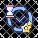 Processing Message Web Icon