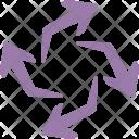 Processing Arrows Rotation Icon