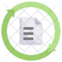 Processing Information Data Icon