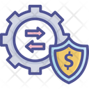 Processing Protection Capital Economical Icon