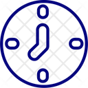 Processing Time Time Hours Icon