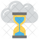 Cloud Time Timer Icon